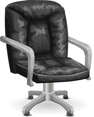 Fotel biurowy na bolące plecy