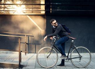 Rower elektryczny w mieście
