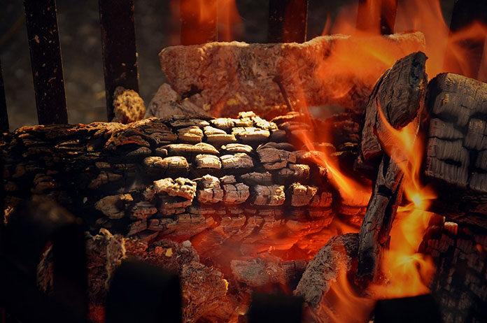 Ognisko zamiast grilla
