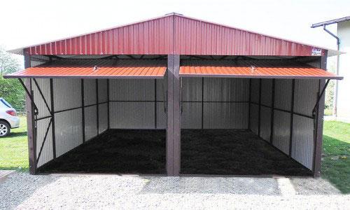 Garaż blaszany czy murowany